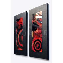 Cuadros Dipticos Modernos Abstractos Tapizados Fabricantes