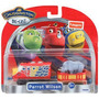 Chuggington Parrot Wilson Set Incluye Locomotora Y Vagon