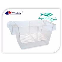 Resun Criadeira Dupla Fh01 Flutuante Para Peixes C/ Ventosas