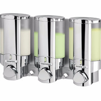 Dispensador De Jabon Liquido Para Baño Despachador Triple