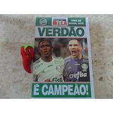 Revista Pôster Verdão Campeão Copa Do Brasil 2015 Loja Do Zé