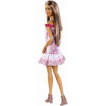 Boneca Barbie Fashionistas Pretty In Python Negra Grace
