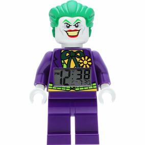 Lego Comics Dc Joker Reloj Despertador Buro Luz Ve Diego Vez