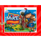 Kit Imprimible Mike El Caballero Tarjeta Decoracion Fiesta