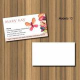 Cartão De Visita Mary Kay - Frente Couchê 250g - 1000 Und.