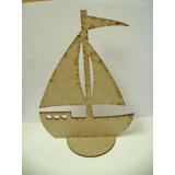 30 Barco,barquinho, Enfeite Mesas,caravela, Marinheiro Mdf