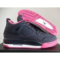 Tenis Jordan 4 Retro Mujer