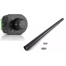 Botão Interruptor Espelho Elétrico Vw Go G5 G6 + Antena
