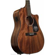 Fender Cd60 Ce Caoba Electroacustica Corte Fishman Y Estuche