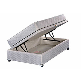 Cama Baúl 1 Plaza Flex Therapedic