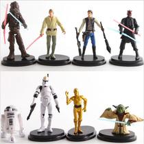Adorno Para Decorar Torta Star Wars Muñecos Oferta X 4 Envio
