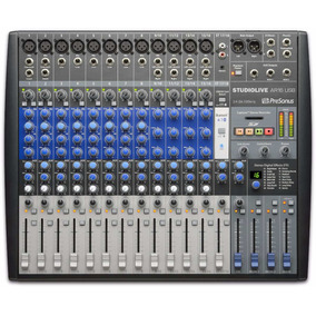 Presonus Ar16 Usb Consola Mixer Hibrida Interfaz Grabacion