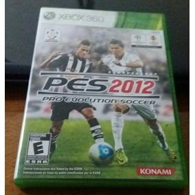 Pes 2012 Xbox360 Original Americano Midia Física