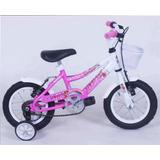 Bicicleta Piruetas Nena Rodado 12 Con Camara Venton