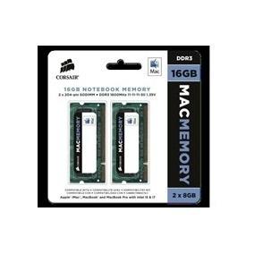 Memoria Corsair 16gb 2x8 1600mhz Macbook Pro 2012