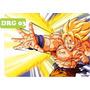 Auto Adesivo Decorativo Papel De Parede Dragon Ball Z - 4m²