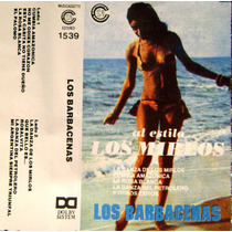 Cumbia Santafesina-los De Barbacena-cassette-primeras Grabac