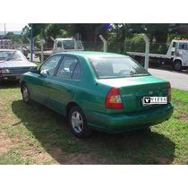 Vidro Vigia Trazeiro Hyundai Accent 200-2003