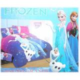 Juego De Sabanas Disney Frozen, Diseño Grande Exclusivo