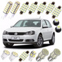 Kit Super Branca Led Golf Polo Pingo Teto Placa Torpedo Xeno