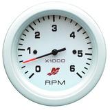 Medidor Conta Giros P/ Embarcações Mercury 6000 Rpm - Branco
