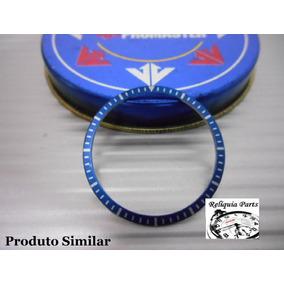 Decalque Para Citizen Mini Combo C410 Cor Azul Série Prata