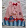 Vestido Infantil Luxo Tubinho Galinha Pintadinha 2 Anos