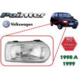 98-99 Volkswagen Pointer Faro Delantero Lado Derecho