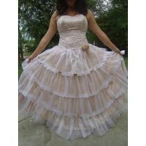 Vestido De Quinceañera. 15 Años. Precioso¡¡¡¡¡¡¡¡