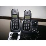 Teléfono Inálambrico Doble! Philips Cd196 Duo C/contestador!