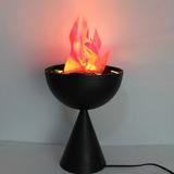Lampara Led Con Base, Bar ,fuego ,llama .luces Sicodelicas