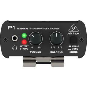 Behringer P1 Amplificador De Monitor Personal In Ear