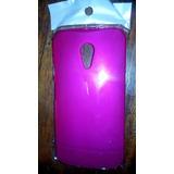 Capa Rigida Moto G 2ª Ger Xt1068 Xt1069 Pink - Leilão