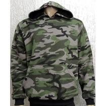 Moletom / Blusa Camuflado / Militar - Modelo 2