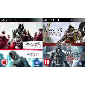 Assassins Creed Pack X 4 Entrega Hoy!! Ps3
