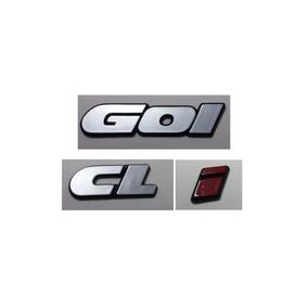Kit Emblemas Volkswagen Gol (quadrado) Cl I 90/97 + Brinde