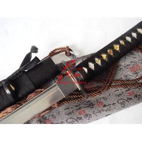 Espada Katana Para Treino Corte Afiada Aço Dobrado Original
