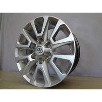 Jg Roda Toyota Hilux Sw4 2016 Aro 17 6x139 S10 Ranger+pneu