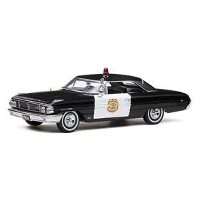 Miniatura Ford Galaxie 500 Police Car Minneapolis 1964 1/18