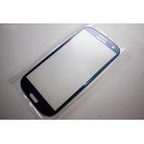 Tela Vidro S/ Touch Só Vidro Samsung Galaxy S3 Gt I9300 Azul
