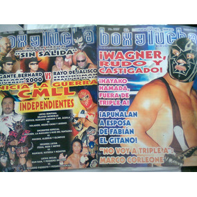 Box Y Lucha Son 12 Revistas