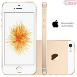 Smartphone Apple Iphone Se 16gb 4g 12mp Dourado Desbloqueado