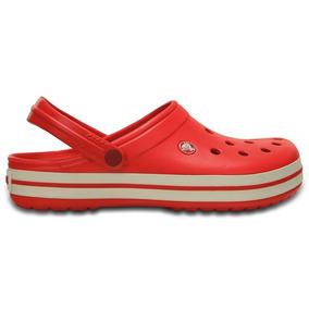 Zapato Crocs Dama Crocband Rojo