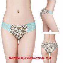 Panties Animal Print (el Precio Es Al Mayor)