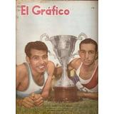 El Grafico 2153 28/12/60. Suarez Rinaldi. D Español Campeón