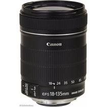 Lente Canon Ef-s 18-135mm F/3.5-5.6 Is Stm Produto Novo Kit.