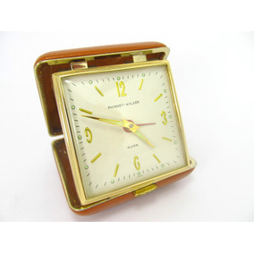 Relógio Alarme Phinney-walker Anos 1960/70 Ainda C/plasticos