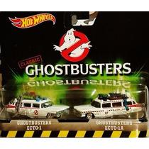 Hot Wheels Cazafastamas Ghostbusters 2 Ecto 1 Peugeot 404