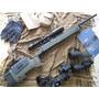 Vfc / Asg M40a3 Usmc Airsoft Sniper Full Metal C/mira Nuevo