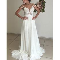 Vestido De Noiva Lindo Sofisticado